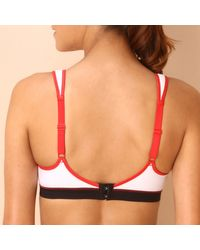 Triumph - Multicolor Crop-top Style Sports Bra With Moulded Cups - Lyst