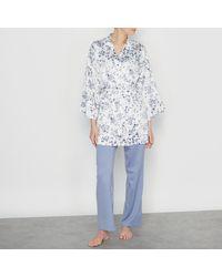 LA REDOUTE | Blue 3-piece Satin Pyjama Set | Lyst