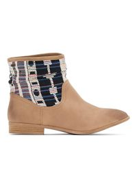 Roxy | Brown Sedona J Boot Tan Ankle Boots | Lyst