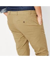LA REDOUTE - Natural Straight Chinos for Men - Lyst