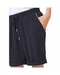 Best Mountain - Black Long Draping Shorts - Lyst