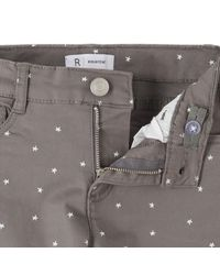 LA REDOUTE - Gray Slim Fit Star Print Trousers, 3-12 Years - Lyst