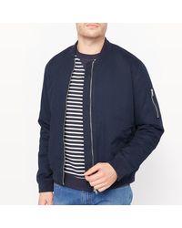 LA REDOUTE - Blue Bomber Jacket for Men - Lyst