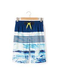 LA REDOUTE   Blue Bedrukte Boardshort for Men   Lyst