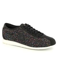 8b9600cf26e Lyst - Le Coq Sportif Wendon W Rainbow Jacquard Trainers in Black