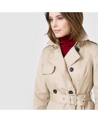 LA REDOUTE - Natural Trench Coat With Removable Quilted Lining - Lyst