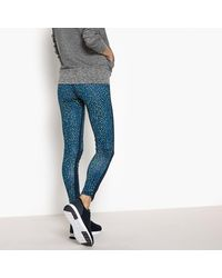 LA REDOUTE - Blue Leggings - Lyst