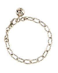 John Hardy - Metallic Kali Silver Link Bracelet W/ Ball Charm - Lyst