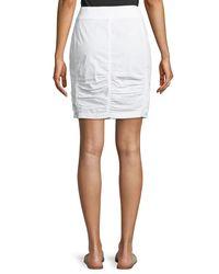 XCVI - White Tammy Lace Up Wash Skirt - Lyst
