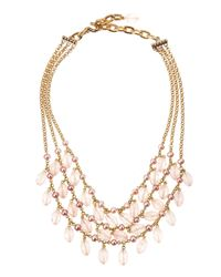 Stephen Dweck - Multicolor Rose Quartz & Pink Pearl Tiered Necklace - Lyst