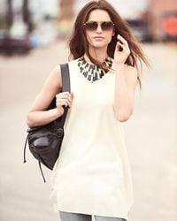 Ashley Pittman - Multicolor Kifalme Dark Horn & Bronze Bib Necklace - Lyst