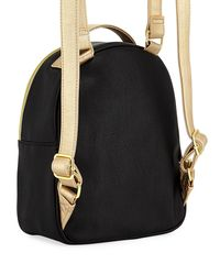 Betsey Johnson - Black Quilted-heart Panda-face Backpack - Lyst