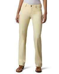 Christopher Blue | White Madison Straight-leg Twill Pants | Lyst