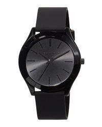 MICHAEL Michael Kors - Black 42mm Slim Runway Watch W/ Silicone Strap for Men - Lyst