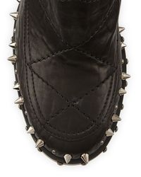 Laurence Dacade - Black Flynn Studded Gored Ankle Boot - Lyst