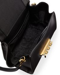 Zac Zac Posen - Black Eartha Iconic Mini Leather Crossbody Bag - Lyst