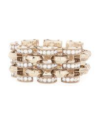 Lulu Frost | Metallic Veratrum Crystal Link Bracelet | Lyst