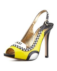 kate spade new york - Multicolor Le Taxi Slingback Pump - Lyst