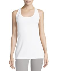 Yummie By Heather Thomson - White Karolina Racerback Tank - Lyst