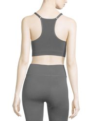 Yummie By Heather Thomson - Black Whitney V-neck Sports Bra - Lyst