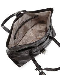 Badgley Mischka   Black Jeyne Crocodile-embossed Leather Tote Bag   Lyst