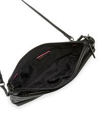 Elliott Lucca - Black Lucca Three-way Leather Crossbody Bag - Lyst