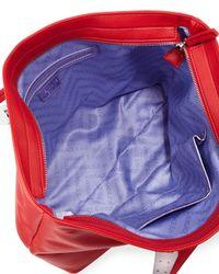 Versace Jeans - Red Tassel Zip-top Tote Bag - Lyst