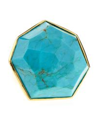 Ippolita | Metallic Turquoise Large Stone Ring | Lyst