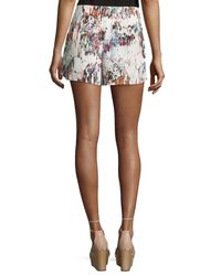French Connection - Multicolor Printed Pull-on Shorts - Lyst