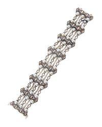 Konstantino | Multicolor Multi-row Pearl Bracelet | Lyst