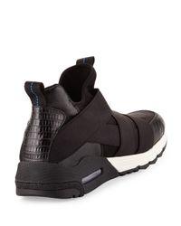 Ash - Black Matrix Leather Sneaker for Men - Lyst