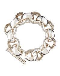 John Hardy - Metallic Bamboo Large-link Bracelet - Lyst