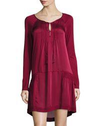 Calypso St. Barth | Red Kerr Drop-waist Dress | Lyst