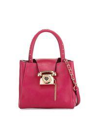 Betsey Johnson | Multicolor You Rang Studded Bucket Bag | Lyst