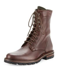 Aquatalia | Brown Justin Weatherproof Leather Chukka Boot | Lyst