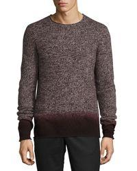 Vince - Black Cashmere-blend Ombré Sweater for Men - Lyst