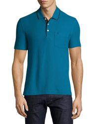 Original Penguin | Blue Classic Tipped Polo Shirt for Men | Lyst