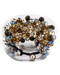 Nakamol - Metallic Wire-wrapped Beaded Cuff Bracelet - Lyst