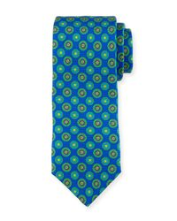 Ted Baker | Green Funky Foulard Circle-print Tie for Men | Lyst