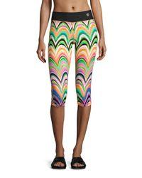 Trina Turk | Multicolor New Wave Printed Leggings | Lyst