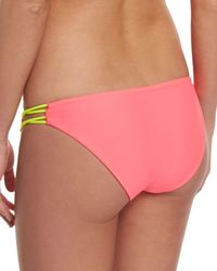 Basta Surf - Multicolor Zunzal Reversible Braided-side Swim Bottom - Lyst