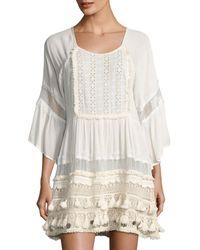 Raga | White Sun Goddess Tunic Dress | Lyst