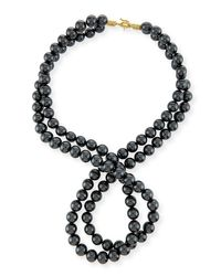 Stella McCartney | Multicolor Swarovski® Crystal-pearl Two-strand Necklace | Lyst