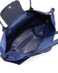 Longchamp - Blue Le Pliage Néo Large Nylon Tote Bag - Lyst