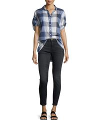 The Great - Black The Almost Skinny Ankle Jeans - Lyst