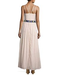French Connection - Multicolor Bacongo Dot Maxi Dress - Lyst
