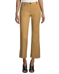 Opening Ceremony - Multicolor Loren Flare-leg Cropped Pants - Lyst