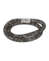 Swarovski - Metallic Stardust Convertible Crystal Mesh Bracelet/choker Set - Lyst