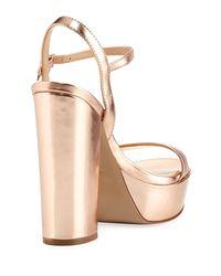 Charles David - Multicolor Regal Leather Sandal - Lyst