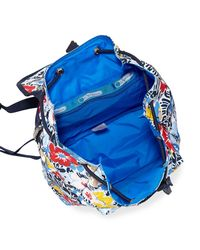 LeSportsac - Blue Edie Small Printed Backpack - Lyst